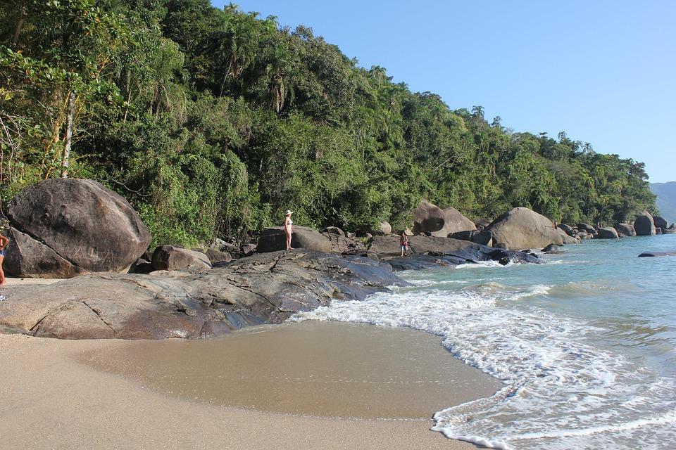 Praia, Ubatuba, Mar, Natureza