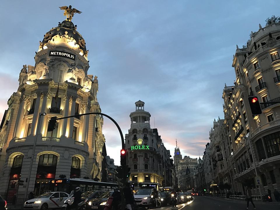 Madrid Atardecer Prisas De La - Foto gratis en Pixabay