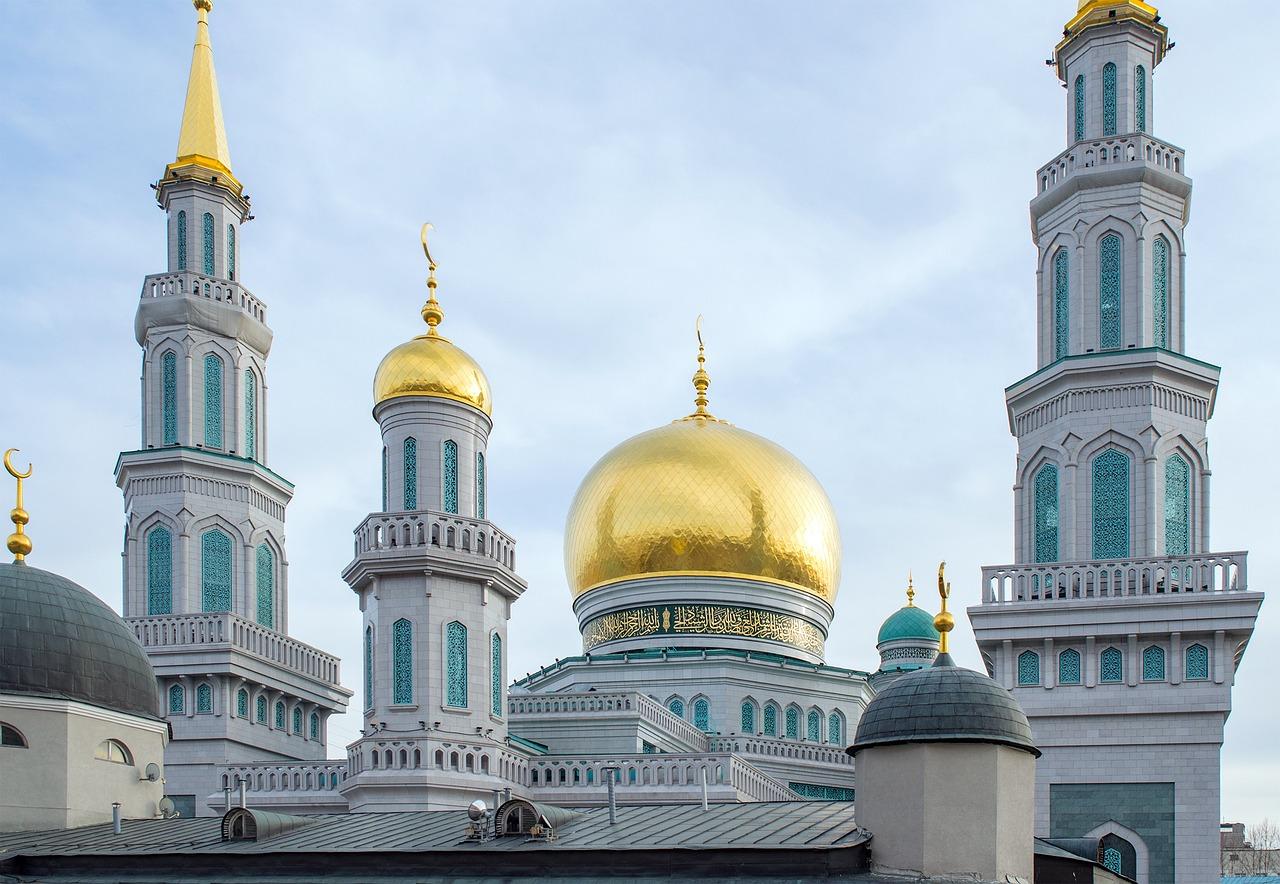 Московская соборная мечеть на проспекте мира фото