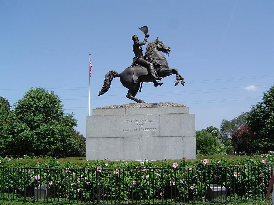 Andrew Jackson, Statue, La Nouvelle Orléans
