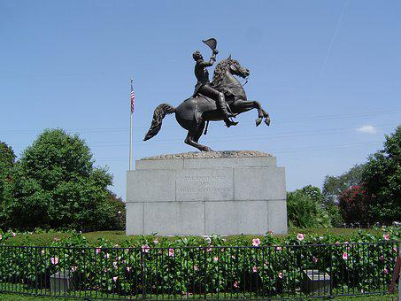 Andrew Jackson, Statue, New Orleans