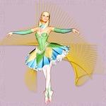 girl, beautiful, ballet dancer