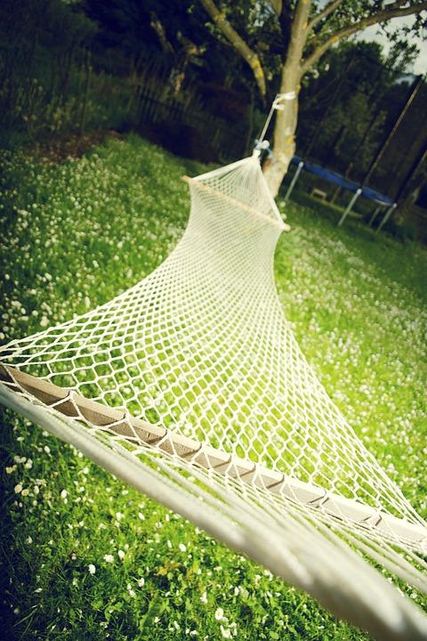 Hängematte Garten Entspannen Kostenloses Foto Auf Pixabay