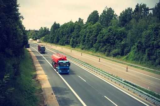 Camión, Carretera, Logística
