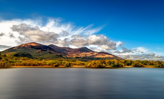 Landscape, Lake, Ireland, Nature, Water