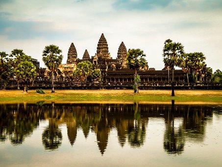 Camboya Ruina Templo Asia Monumento Arquit