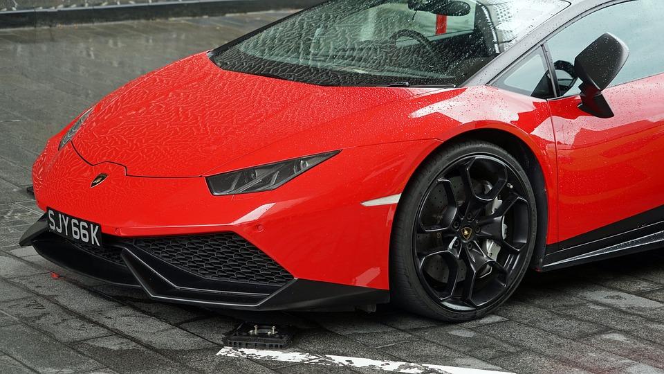 Lamborghini Red Luxury Car Free Photo On Pixabay