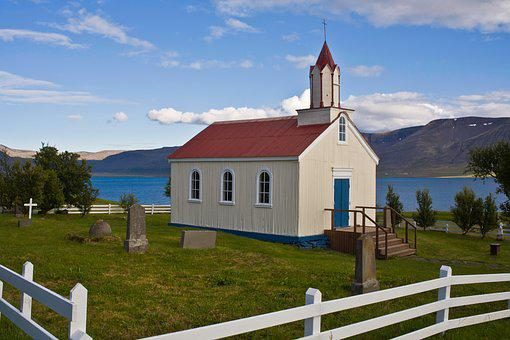 Church Iceland Scenic West Coast Isolated
