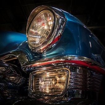 Main Beam Headlamps, Spotlight, Car Lamp