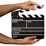 clapper, hollywood, cinema