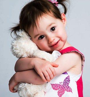 Child, Girl, Cuddle, Cuddling, Hugging