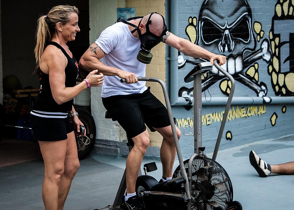 Gas Mask, Aerodyne Bike, Crossfit, Gasmask, Fitness