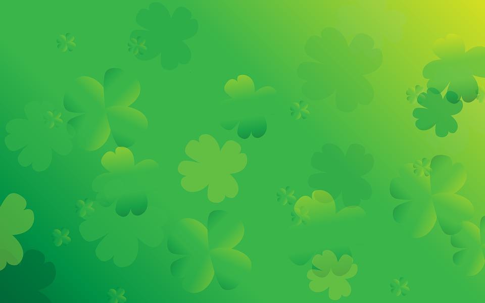 St Patrick Background Images: St Patricks Day Background Clover · Free Image On Pixabay