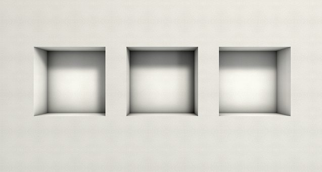 Window, Niche, Wall, Boards, Texture