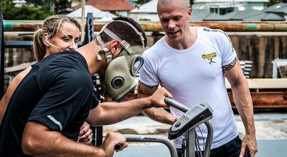 Gas Mask Training, Fitness, Hardcore Training