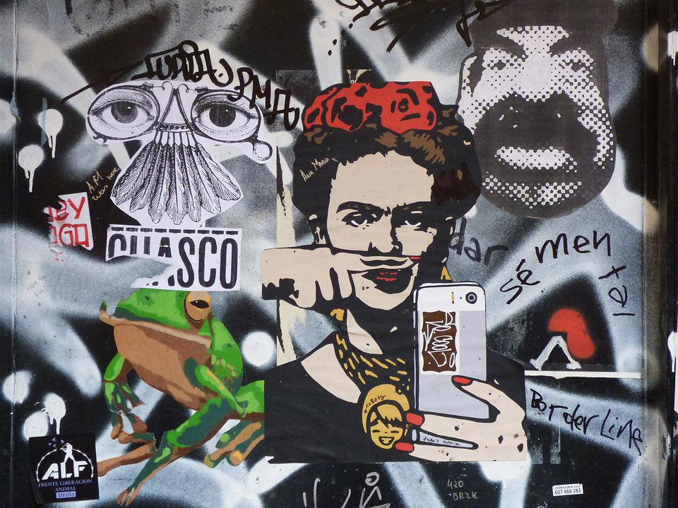 Urban Art Graffiti Collage Street 183 Free Photo On Pixabay