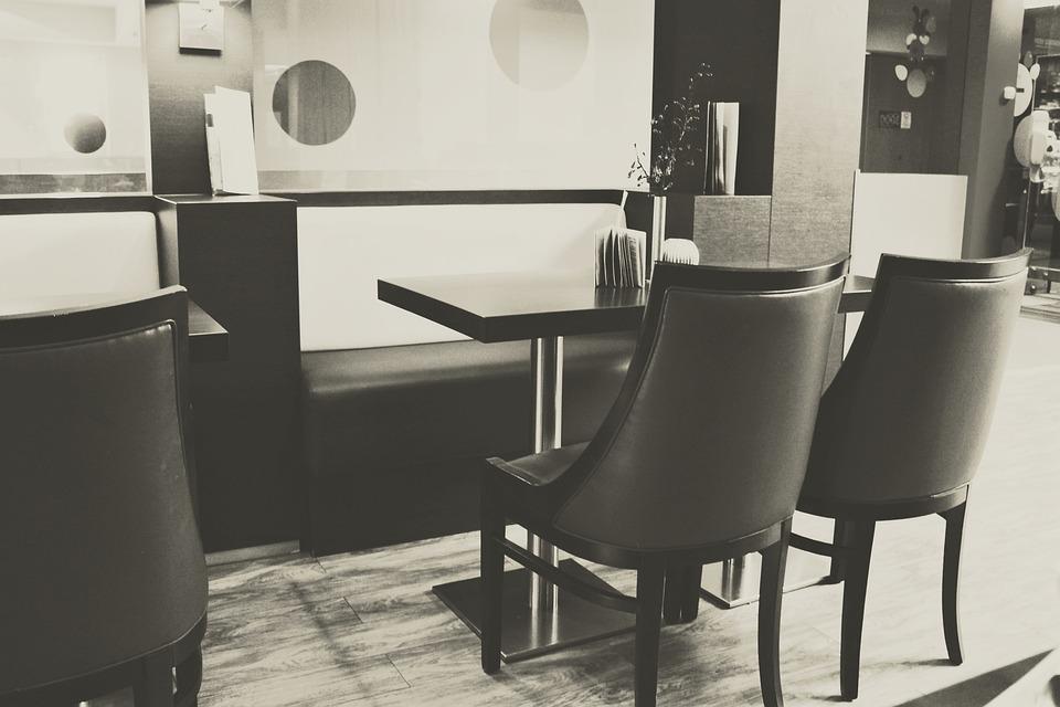 무료 사진: 주방, 식당, 테이블, 현대, 장비, 분위기, 빈티지 ...