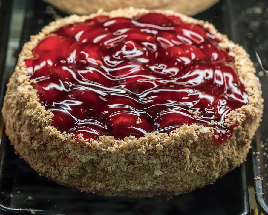 Erdbeeren Kuchen Obst Kostenloses Foto Auf Pixabay