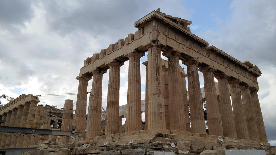 Photo gratuite temple grec gr ce architecture image for Architecture grec