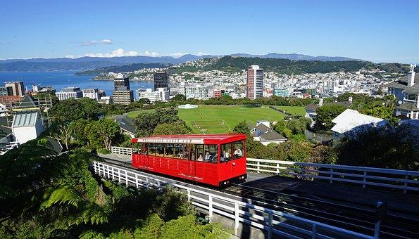 Wellington, Cable Car, New Zealand, City