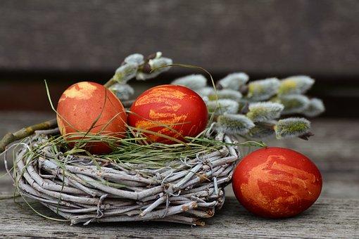 Πασχαλινά Αυγά, Osternest