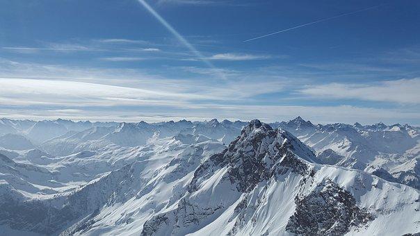 ラフホーン, 高山, Tannheimer 山, 山, アルゴイ地方, サミット