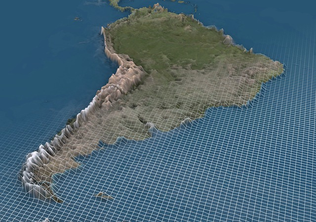 3d Map Of South America.South America Andes 3d Free Image On Pixabay