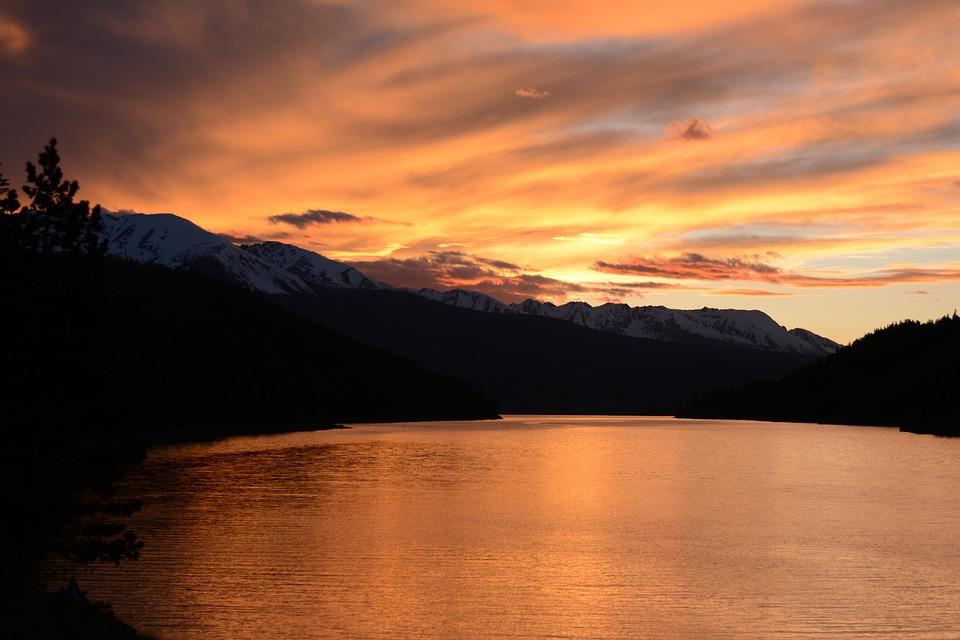 Sunset Lake Colorado - Free photo on Pixabay