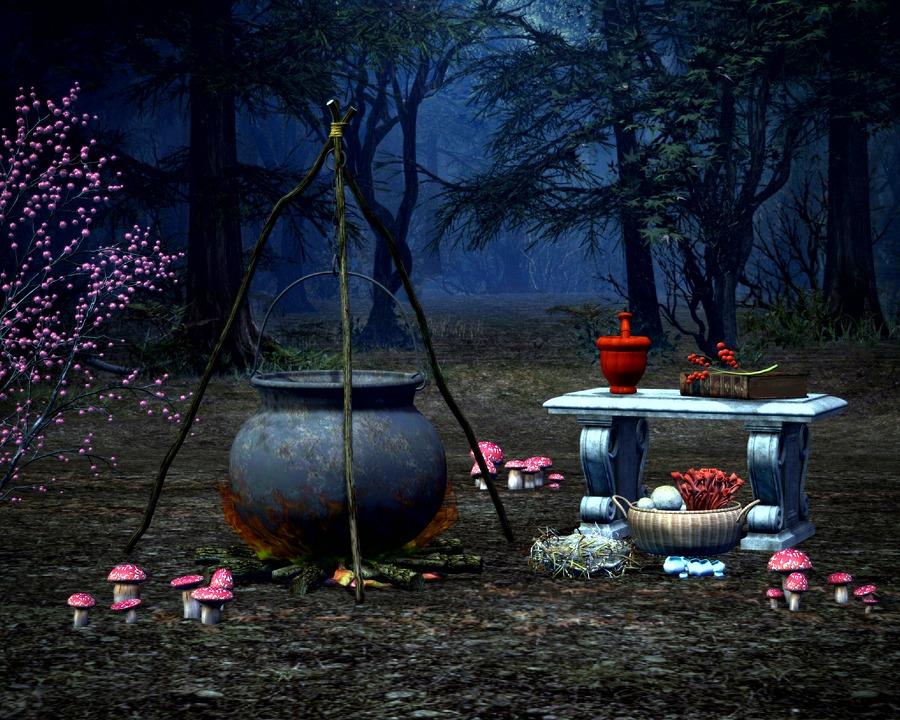 witch magic halloween witchcraft horror night - Halloween Witchcraft