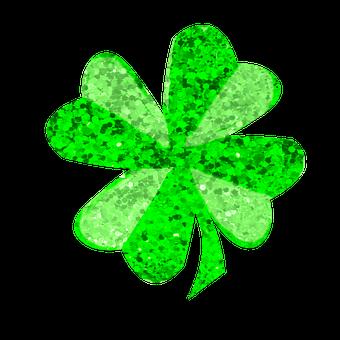 Szent Patrik Napja, Shamrock, Zöld