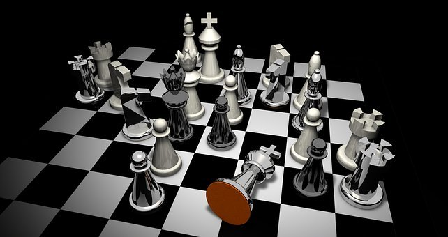 Checkmated, Chess, Figures, Chess Pieces