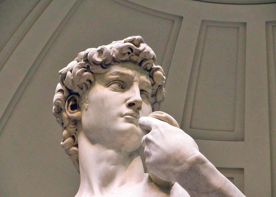David, Miguel Angel, Italien, Florenz, Statue