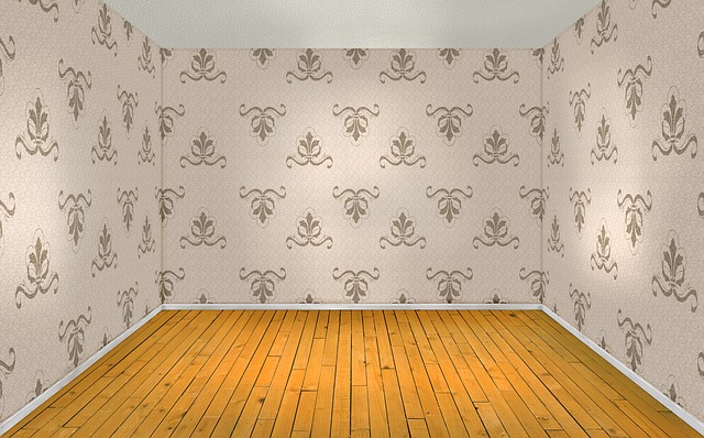 Free Illustration Room Empty Interior Wood Floor