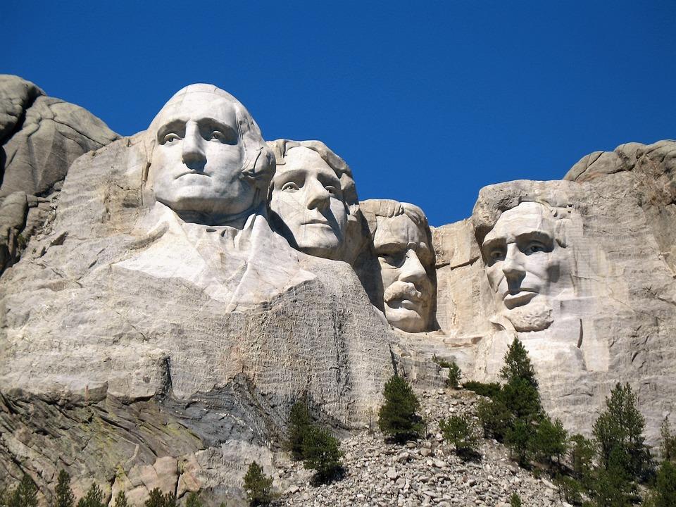 Mt Rushmore, Mount Rushmore, Dakota, Prezydenci