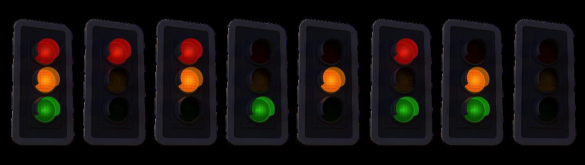 Semáforo, Fases Del Semáforo