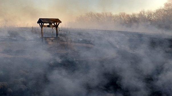 Smoke, Wishing Well, Burnt, Well, Smoke