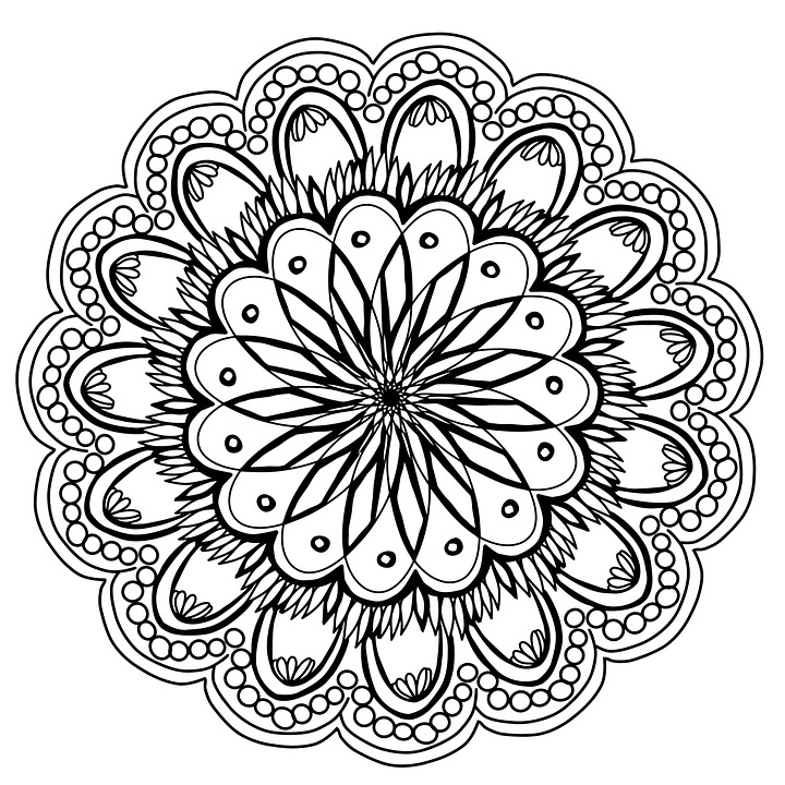 Flores Mandala Mano Imagen Gratis En Pixabay