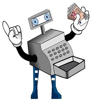 Caisse, Supermarché, Facture, Invoice