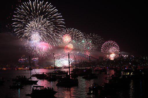 Sydney, New Year'S Eve, Fireworks