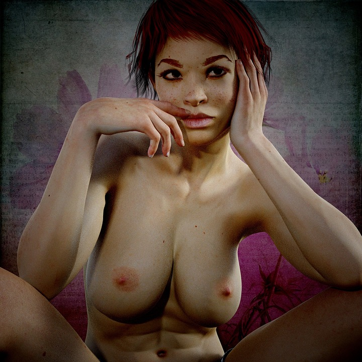Naked Woman Erotic Body Femininity Sexy Female