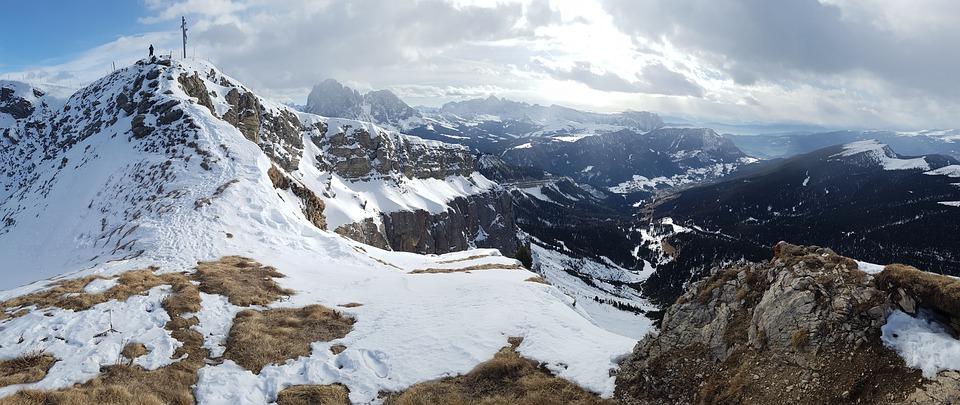 Val Gardena, Inverno, All'Aperto, Escursioni, Natura