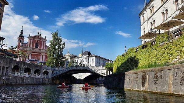 Ljubljana Ro Eslovenia Puente