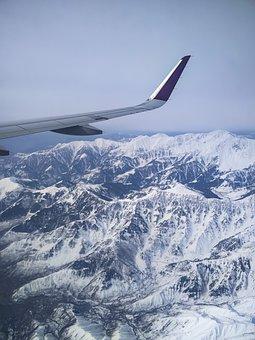 Plane, Window, Window Seat View, View