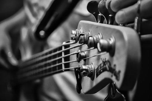 Music, Low, Electric Bass, Strings, Keys