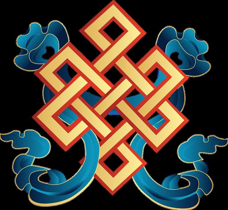 Vector Auspicious Symbol Mongolia Free Vector Graphic On Pixabay