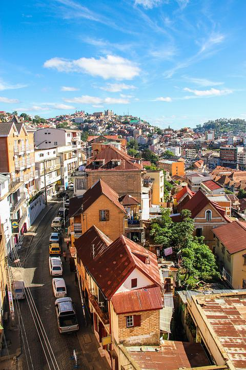 Ville, Antananarivo, Vieille Ville, Madagascar
