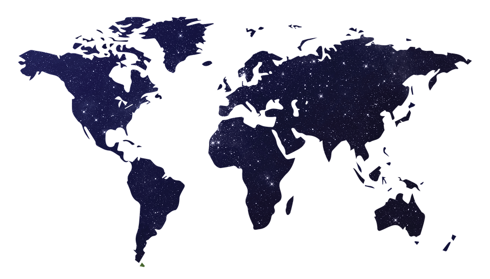 World map free pictures on pixabay galaxy world map map of the world space wo gumiabroncs Choice Image