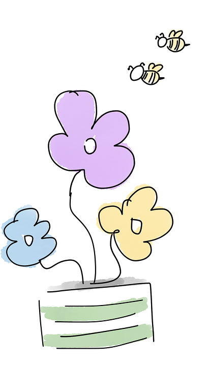 Flori Albine Ghiveci De Imagine Gratuită Pe Pixabay