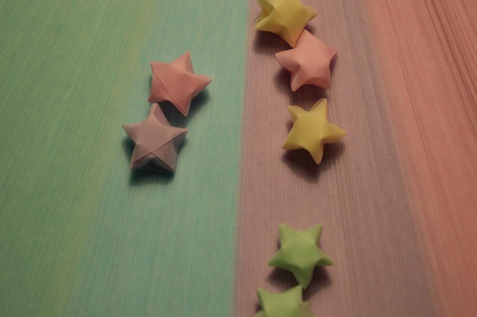Origami Stars Free Photo On Pixabay