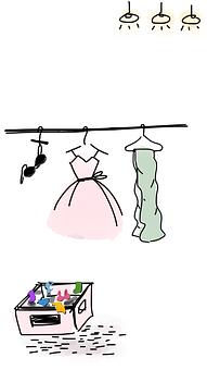 服, クローゼット, クローゼットを備, ワードローブ, ファッション, 摩耗